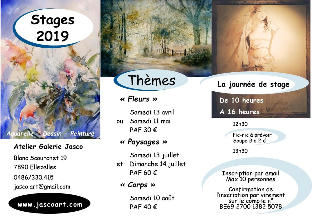 Stage Atelier Galerie Jasco